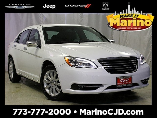 Certified Pre-Owned 2013 Chrysler 200 Limited