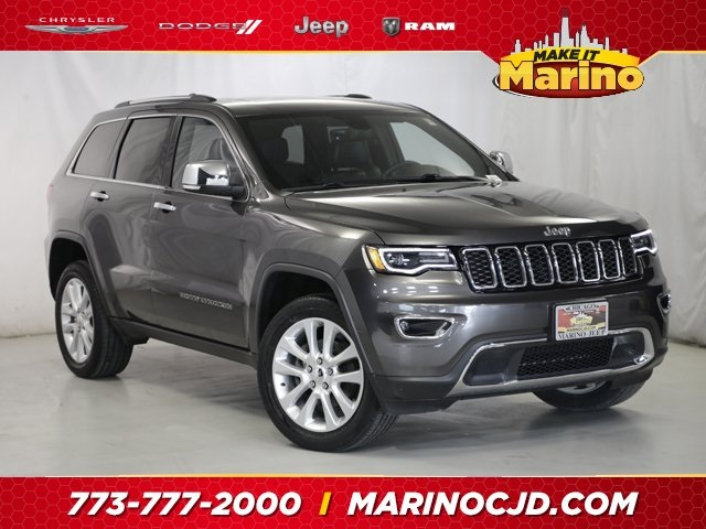 Certified Pre-Owned 2017 Jeep Grand Cherokee Limited Luxury Group 2