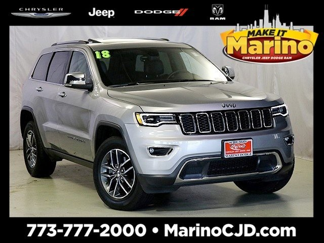 Certified Pre-Owned 2018 Jeep Grand Cherokee Limited Luxury Group II