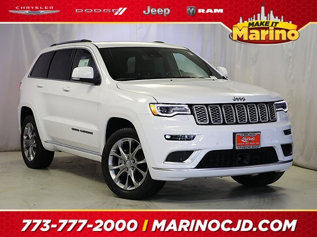 Certified Pre-Owned 2019 Jeep Grand Cherokee Summit Platinum