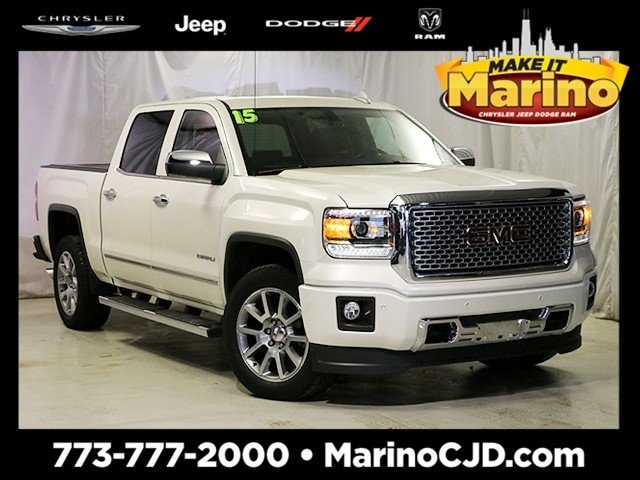 2015 Gmc Sierra Denali >> Pre Owned 2015 Gmc Sierra 1500 Denali 4d Crew Cab In Chicago 70880b