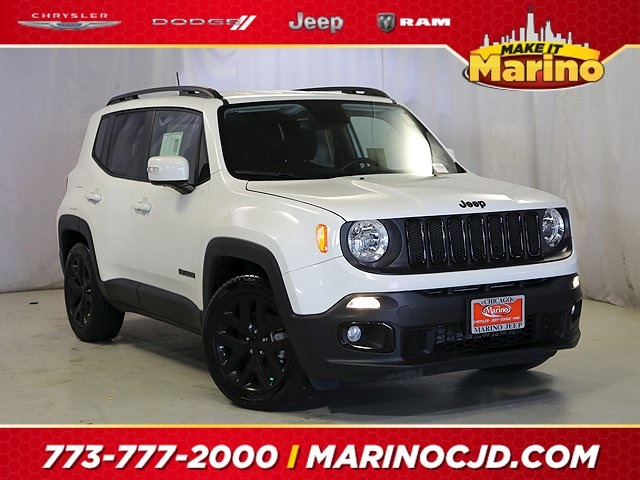 Certified Pre-Owned 2018 Jeep Renegade Latitude Altitude