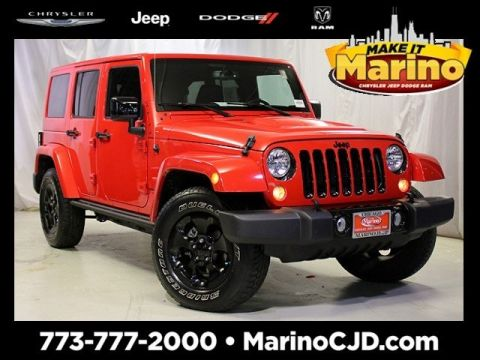 Certified Pre-Owned 2015 Jeep Wrangler Unlimited Sahara Altitude