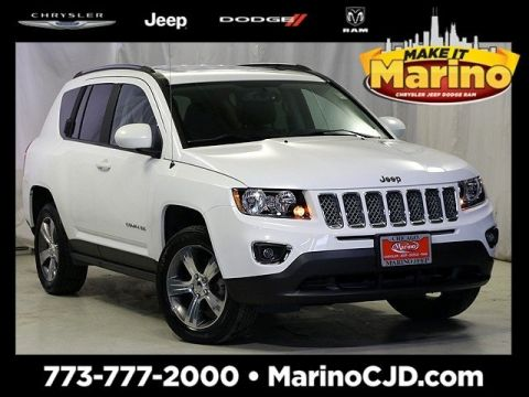 Certified Pre-Owned 2017 Jeep Compass Latitude High Altitude