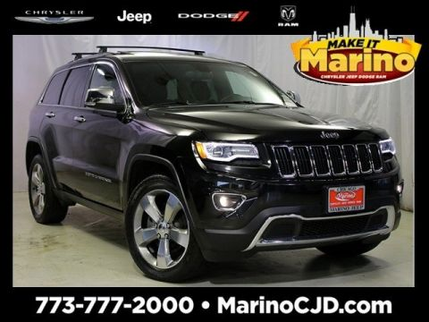 Certified Pre-Owned 2014 Jeep Grand Cherokee Limited Luxury Group II