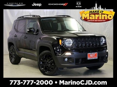 Certified Pre-Owned 2016 Jeep Renegade Latitude Justice Edition